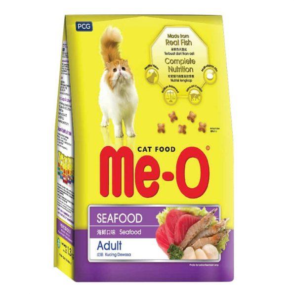 Thức ăn cho mèo trưởng thành vị hải sản - MeO
