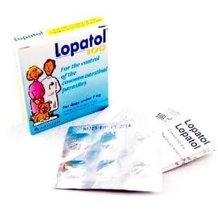 Thuốc tẩy giun cho chó - Lopatol