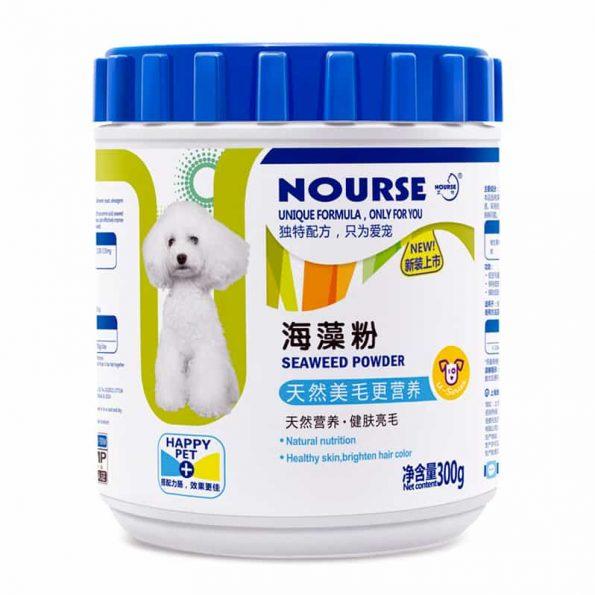 Bột dinh dưỡng bảo vệ và chữa các bệnh ngoài da cho chó - Nourse Seaweed Powder