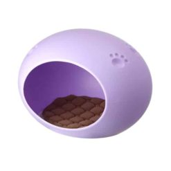 Nhà nhựa cho chó mèo hình quả trứng AUPET
