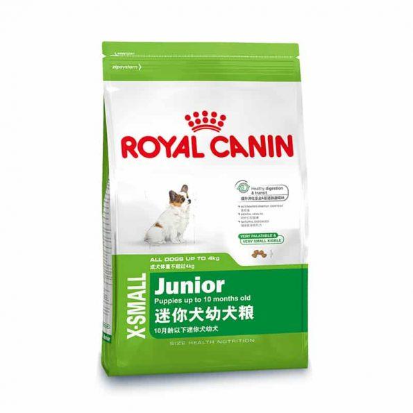Thức ăn cho chó - Royal Canin XSMALL Junior
