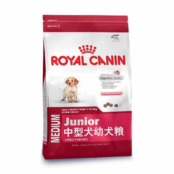 Thức ăn cho chó Royal Canin Medium Junior
