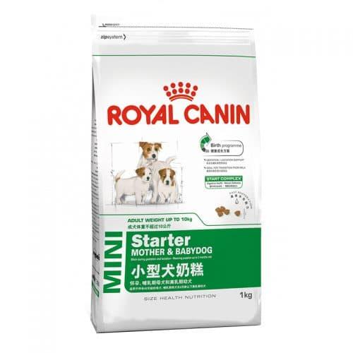 th c n cho ch royal canin mini starter pet mart. Black Bedroom Furniture Sets. Home Design Ideas