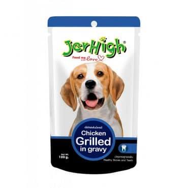 Nước sốt cho chó JerHigh - Chicken Grilled in Gravy