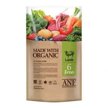 Thức ăn cho chó hỗn hợp vị thịt cừu – ANF 6 FREE LAMB