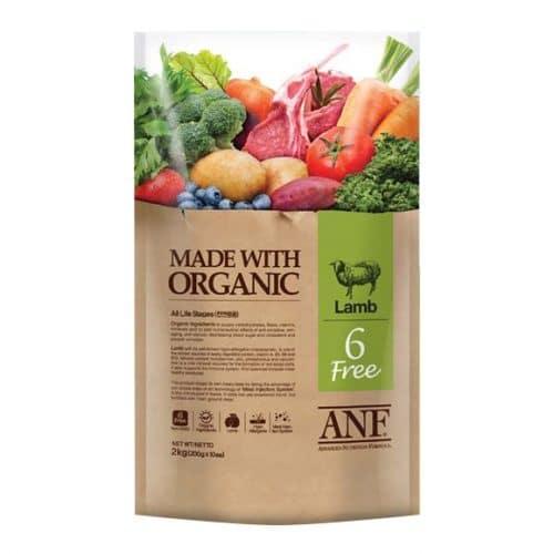 Thức ăn cho chó hỗn hợp vị thịt cừu - ANF 6 FREE LAMB