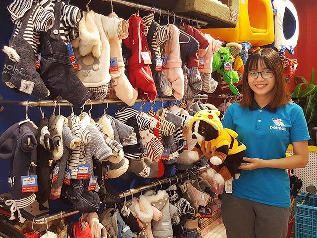 Quần áo cho chó con giá rẻ tại Hà Nội & TP.HCM