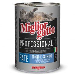 Pate cho mèo Morando Miglior Gatto Adult Tonno / Salmone