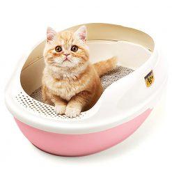 Khay vệ sinh cho mèo - Makar Bentonite Cat Litter Box