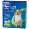 Thuốc trị ve rận cho chó từ 7.6 đến 15kg NextGard Spectra