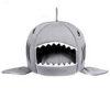 Ổ đệm cho chó mèo hình nhà cá mập size S